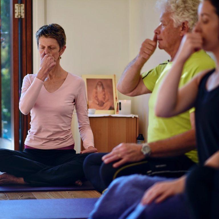 Yoga breathing practices brighton melbourne