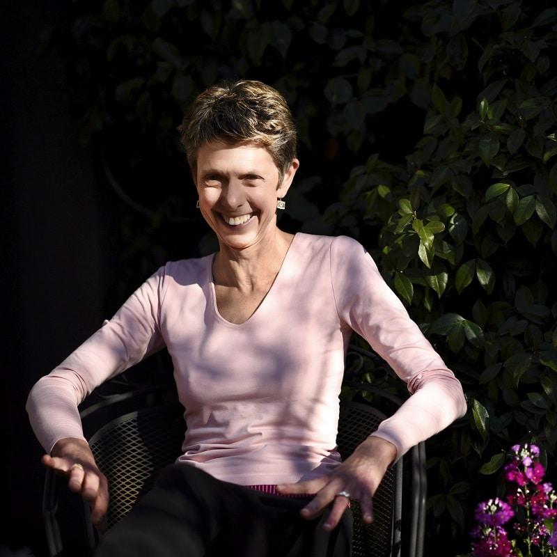 Yoga Therapist Caroline Giles